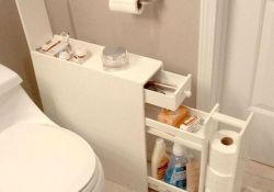 50 Brilliant Storage Design Ideas for Small Bathroom To Make It Look Spacious (1)