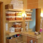 50 Brilliant Storage Design Ideas for Small Bathroom To Make It Look Spacious (49)