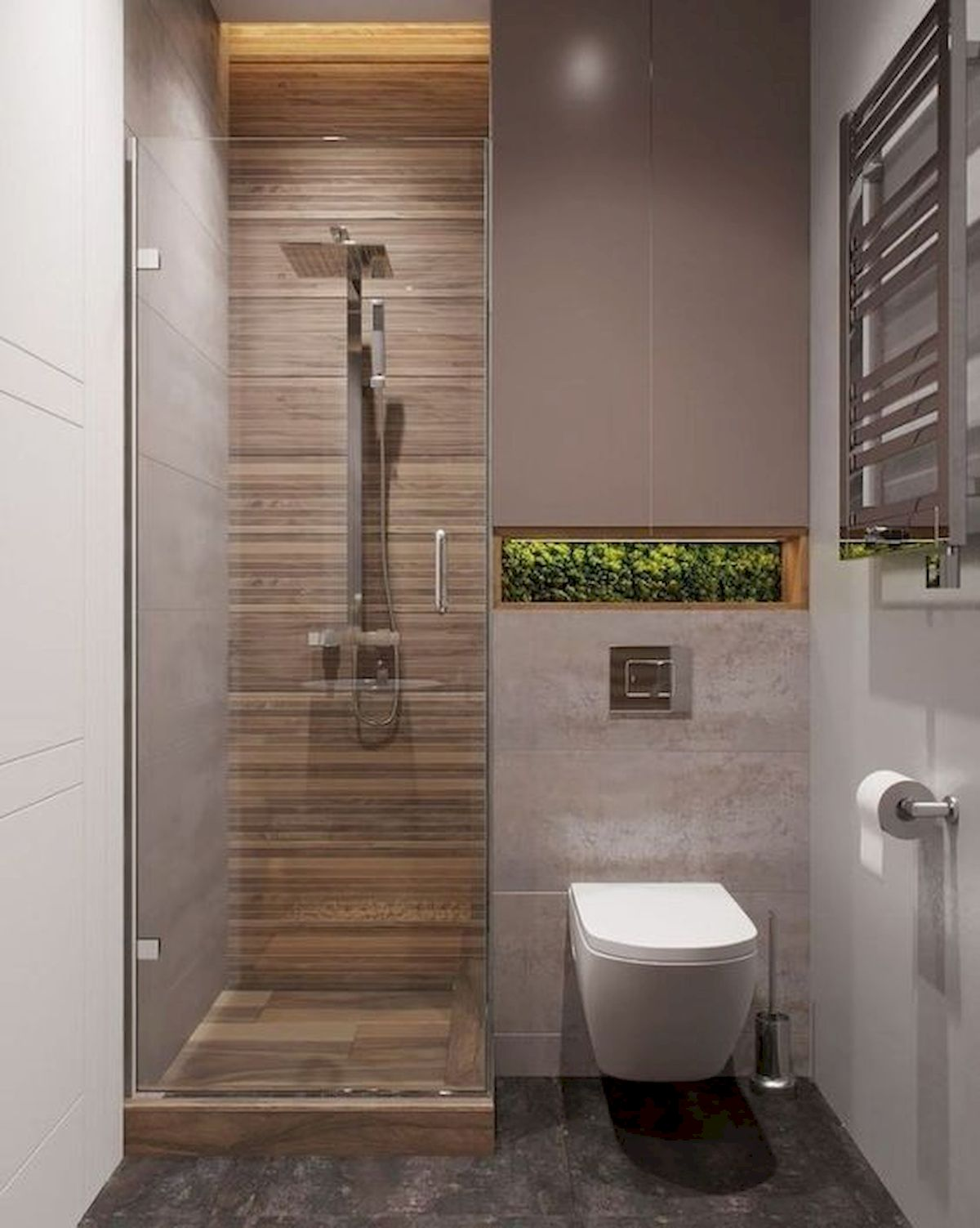 50 Cozy Bathroom Design Ideas for Small Space in Your Home ... on Bathroom Ideas For Small Space  id=87733