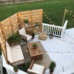50 Fantastic Backyard Patio and Decking Design Ideas (22)
