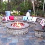 55 Awesome Backyard Fire Pit Ideas For Comfortable Relax (17)