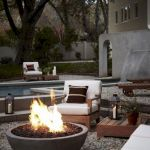 55 Awesome Backyard Fire Pit Ideas For Comfortable Relax (44)