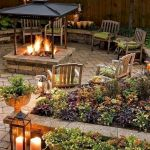 55 Awesome Backyard Fire Pit Ideas For Comfortable Relax (51)