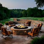 55 Awesome Backyard Fire Pit Ideas For Comfortable Relax (7)