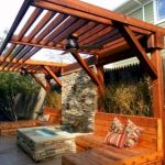 60 Awesome Backyard Privacy Design And Decor Ideas (11)