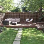 60 Awesome Backyard Privacy Design and Decor Ideas (35)