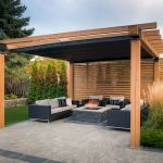 60 Awesome Backyard Privacy Design and Decor Ideas (49)