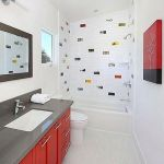 65 Gorgeous Colorful Bathroom Design And Remodel Ideas (23)