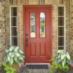 90 Awesome Front Door Colors and Design Ideas (72)