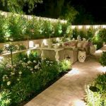 50 Awesome Modern Backyard Garden Design Ideas With Hanging Plants (7)
