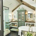 50 Awesome Modern Farmhouse Bathroom Remodel Ideas (2)