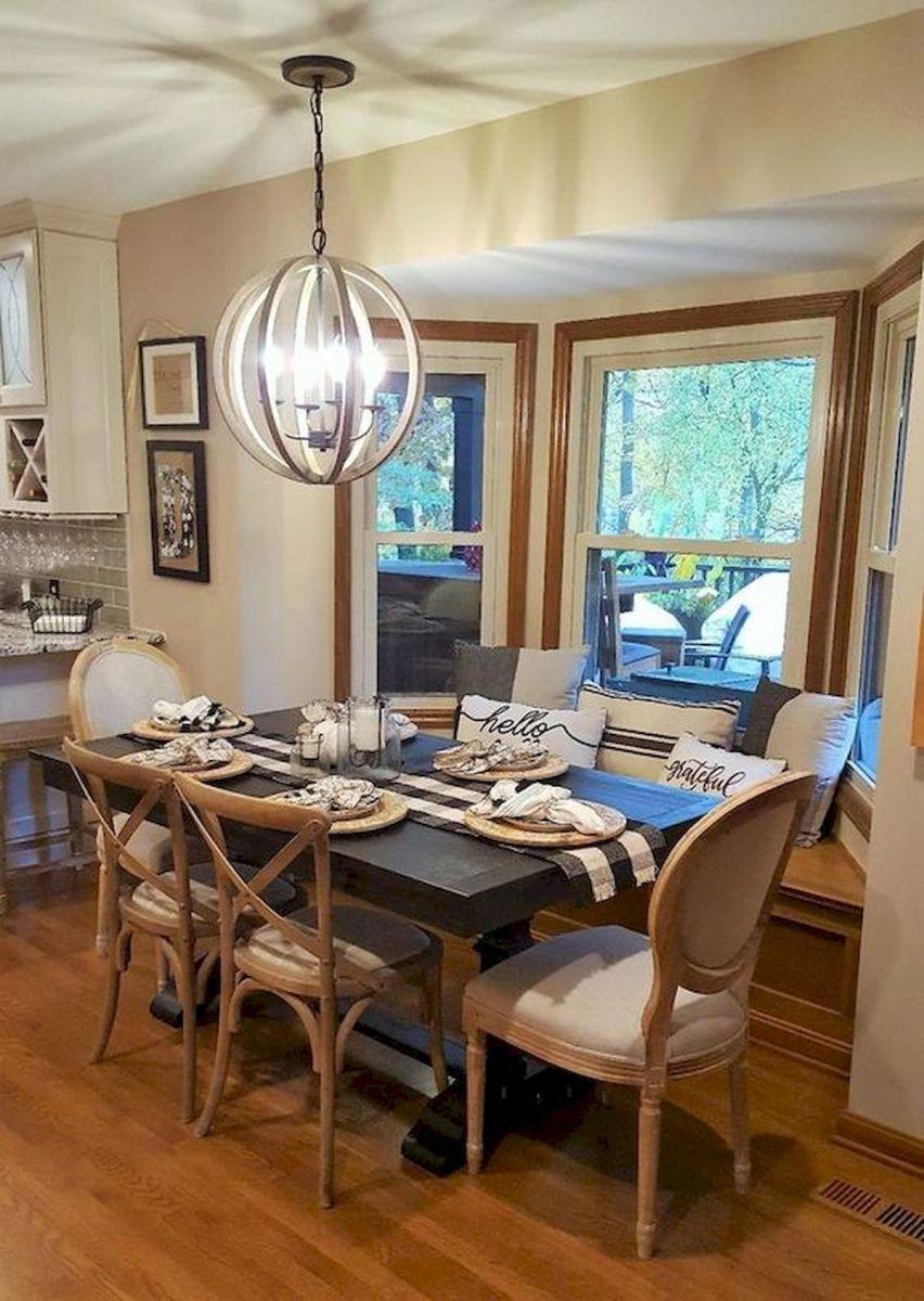 80 Elegant Modern Dining Room Design and Decor Ideas (12)