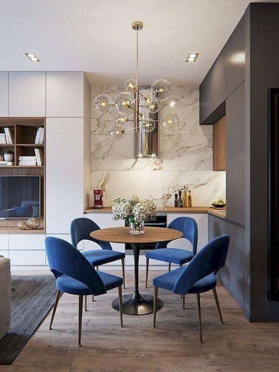 80 Elegant Modern Dining Room Design and Decor Ideas (27)
