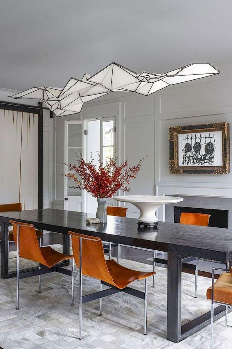80 Elegant Modern Dining Room Design and Decor Ideas (30)