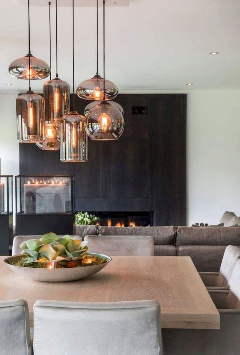 80 Elegant Modern Dining Room Design and Decor Ideas (42)