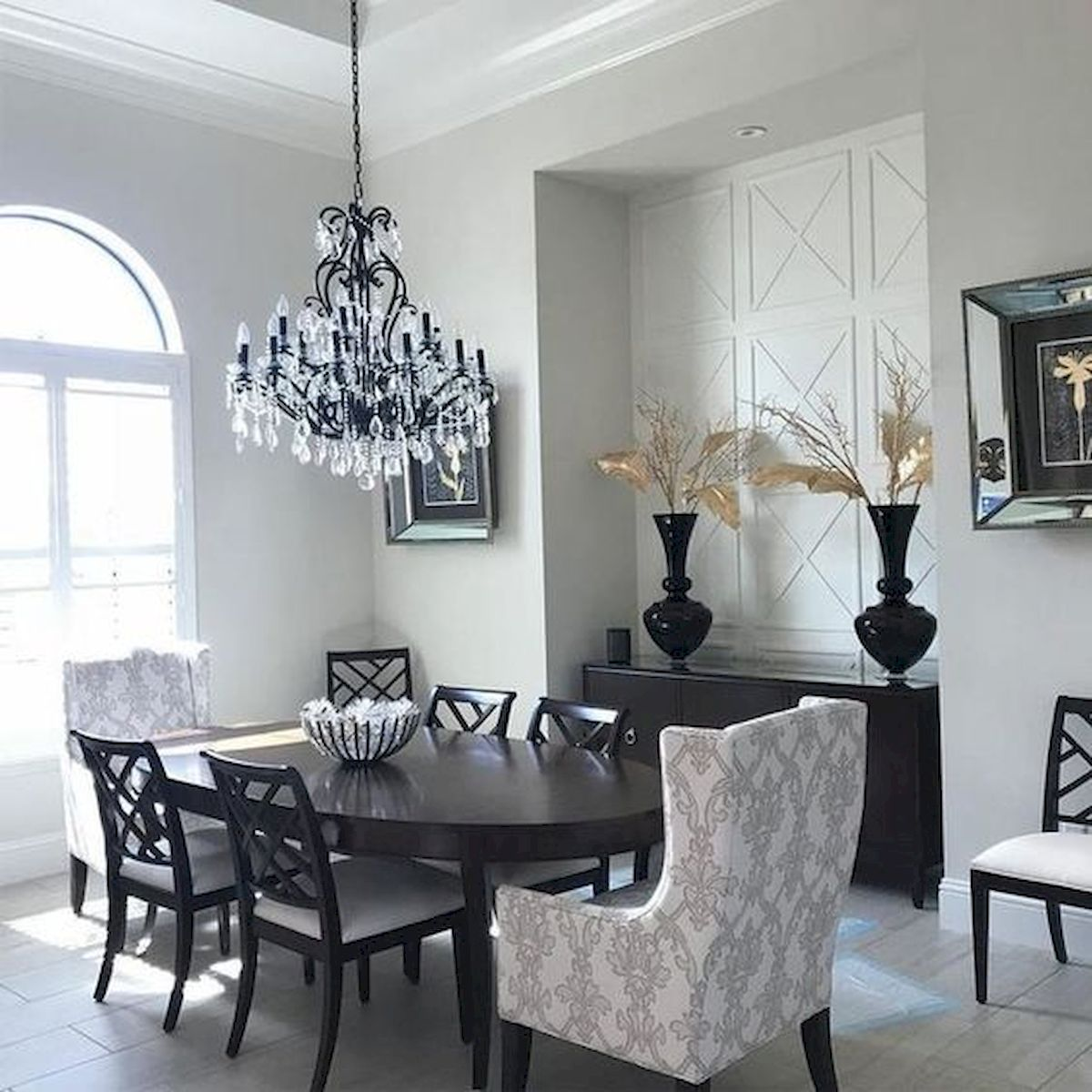 80 Elegant Modern Dining Room Design and Decor Ideas (50)
