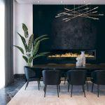 80 Elegant Modern Dining Room Design and Decor Ideas (54)
