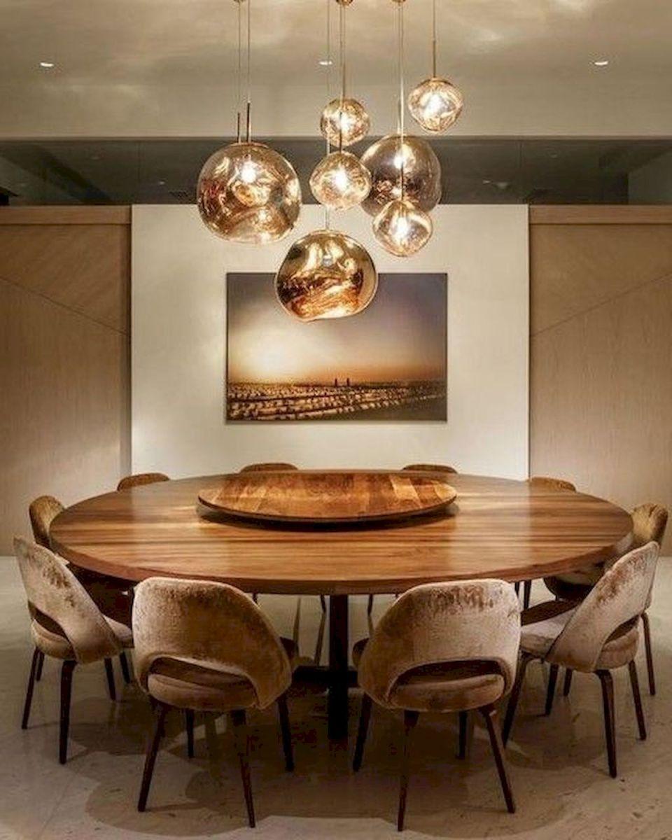 80 Elegant Modern Dining Room Design and Decor Ideas (65)