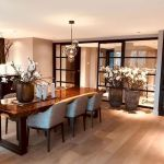 80 Elegant Modern Dining Room Design And Decor Ideas (80)