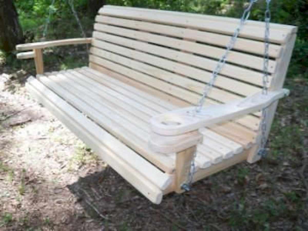 30 Fantastic DIY Wooden Pallet Swing Chair Ideas (1)