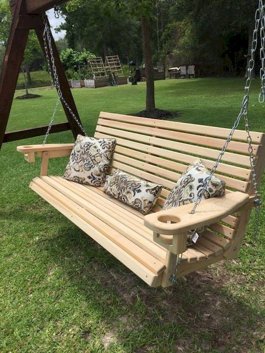 30 Fantastic DIY Wooden Pallet Swing Chair Ideas (10)