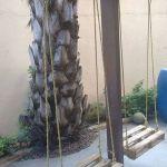 30 Fantastic DIY Wooden Pallet Swing Chair Ideas (25)