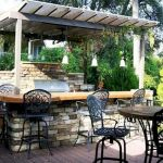 30 Fantastic Outdoor Kitchen Ideas and Design On A Budget (28)
