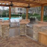 30 Fantastic Outdoor Kitchen Ideas and Design On A Budget (6)