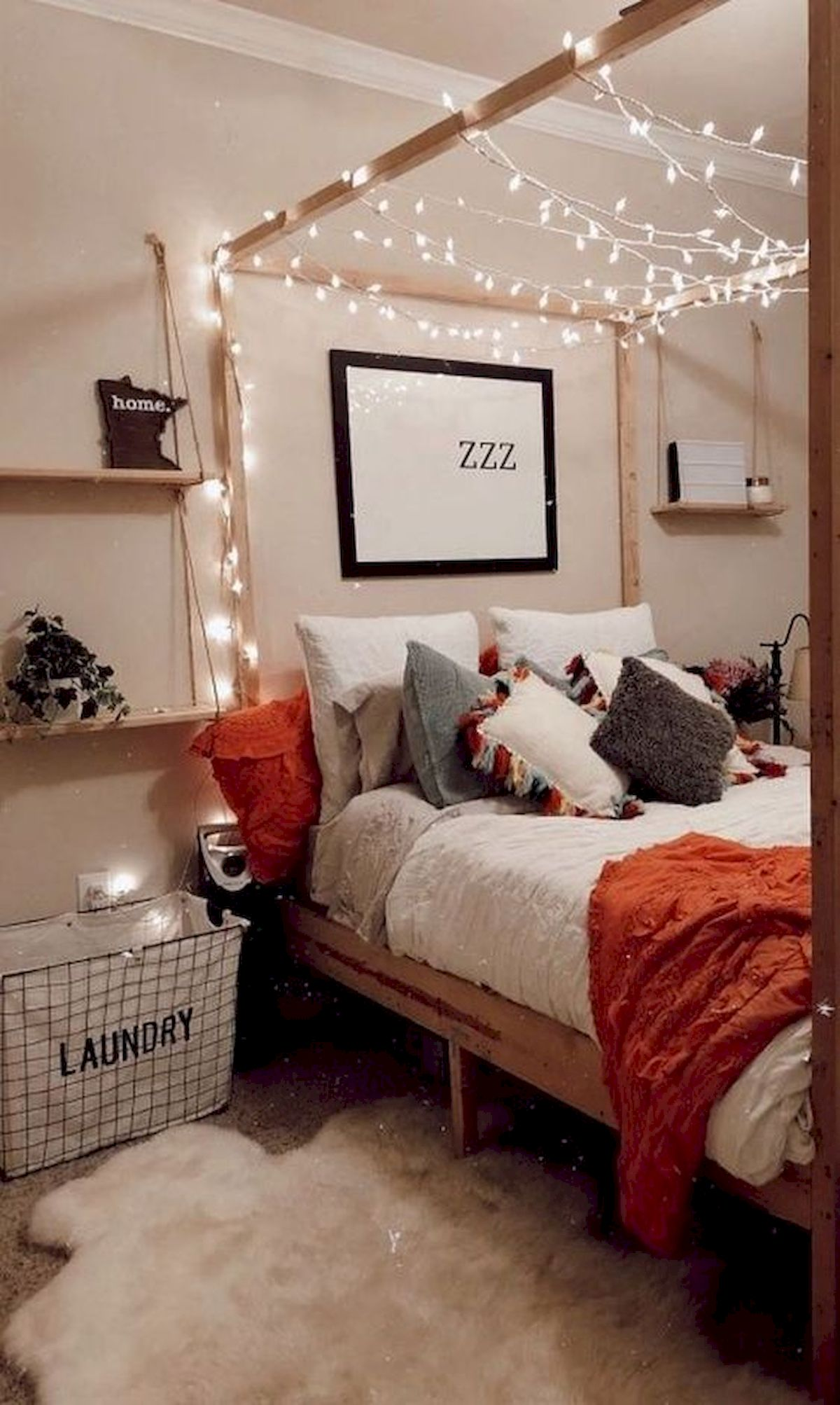 30 Cozy Fall Decoration Ideas For Your Bedroom (2)