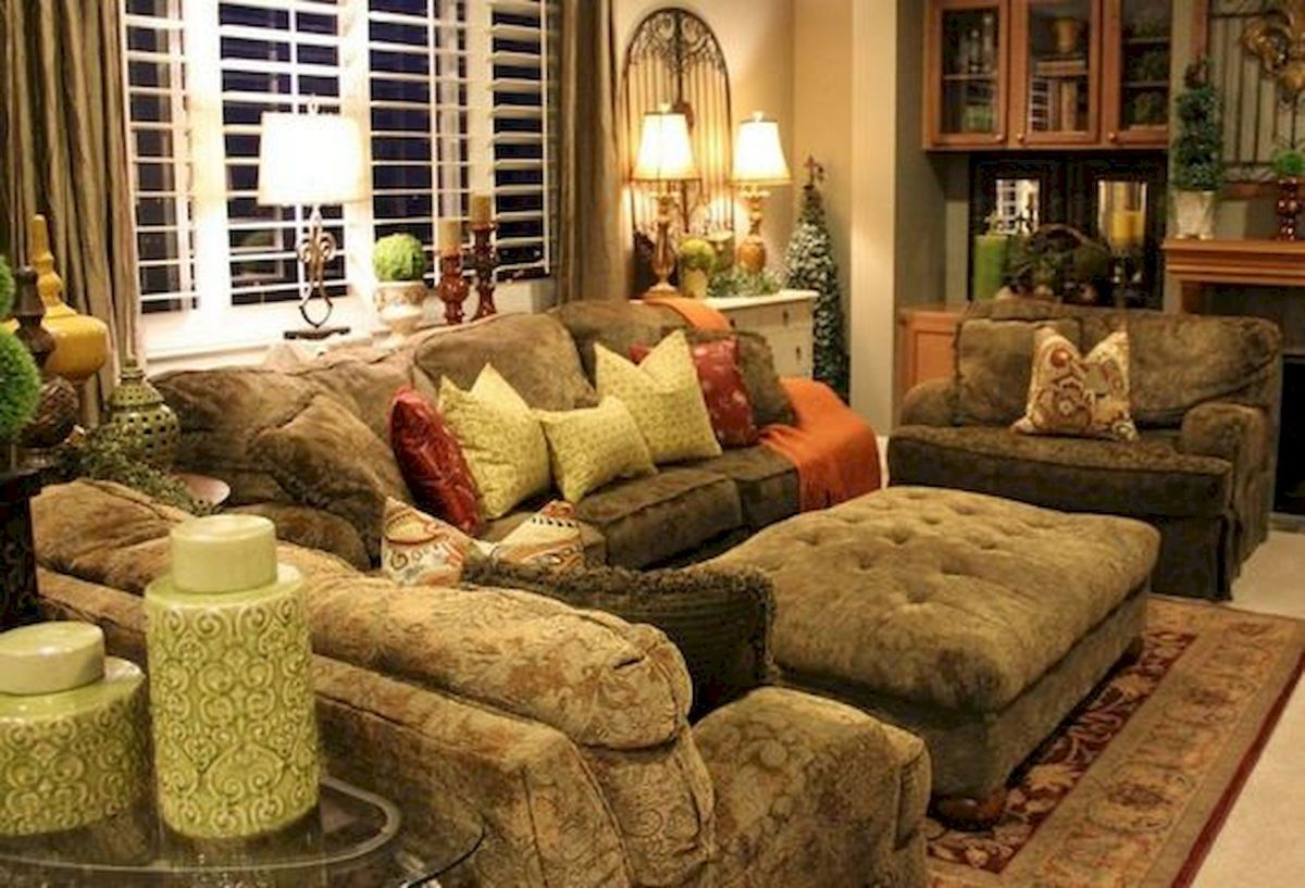 40 Awesome Fall Decoration Ideas For Living Room (39)