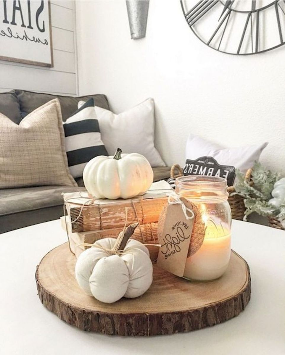 40 Awesome Fall Decoration Ideas For Living Room (40)