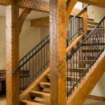 30 Awesome Wooden Stairs Design Ideas For Your Home (24)