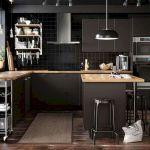 30 Stunning Black Kitchen Ideas You Will Love (11)