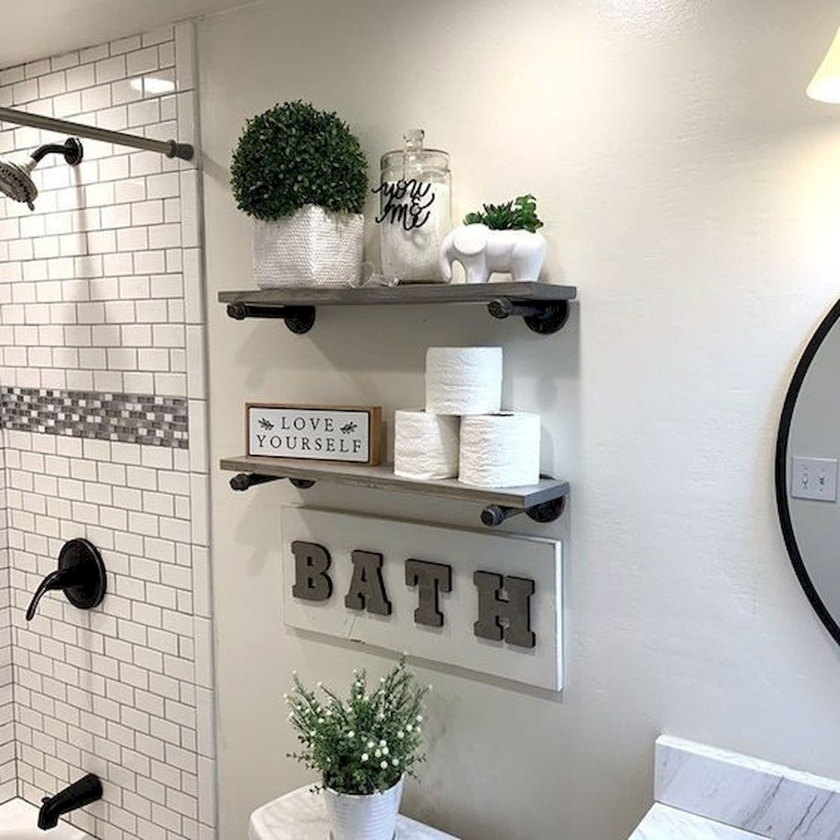 30 Awesome Fall Bathroom Decorating Ideas (18)