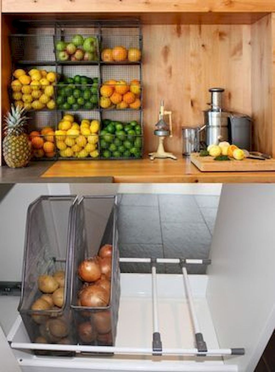 30 Best Fruit and Vegetable Storage Ideas for Your Kitchen (10)