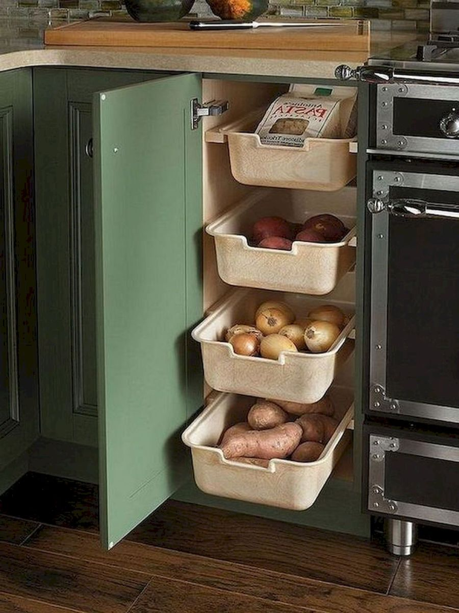 30 Best Fruit and Vegetable Storage Ideas for Your Kitchen (7)