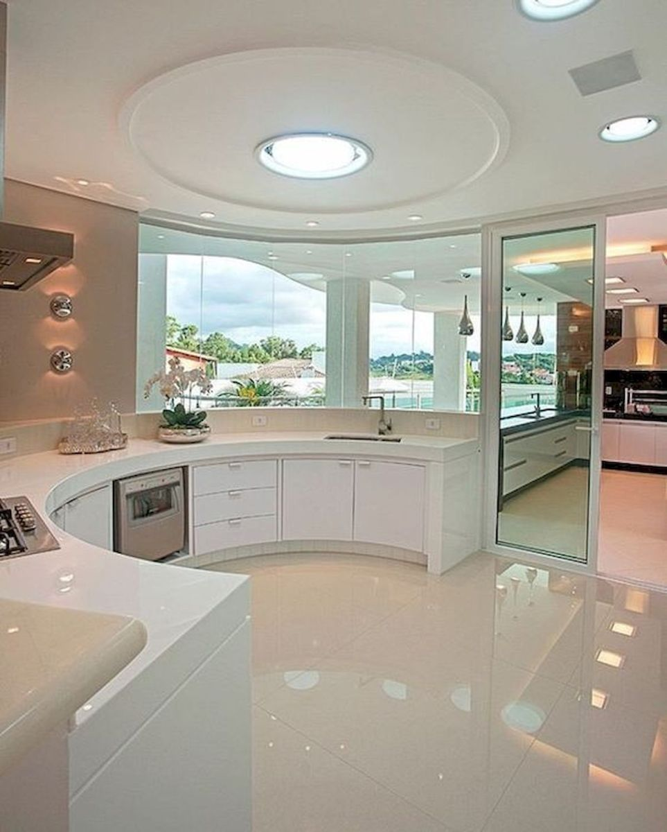 40 Best Tile Flooring Designs Ideas For Modern Kitchen (31)