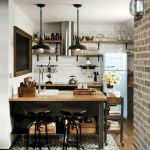 20 Best Farmhouse Kitchen Lighting Decor Ideas (20)