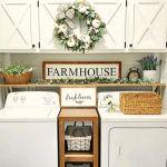 20 Best Farmhouse Laundry Room Decor Ideas (4)