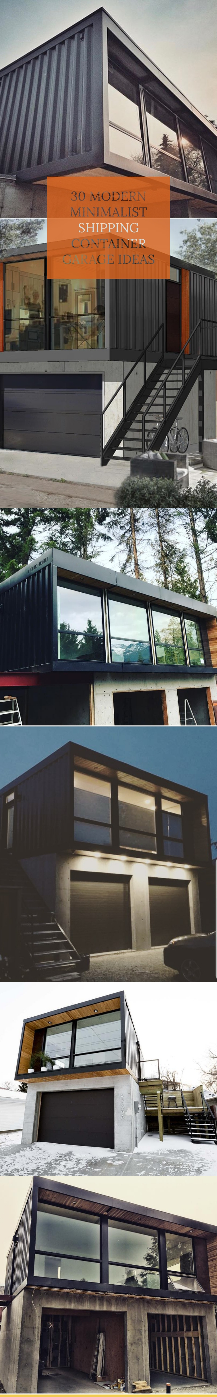 15 Unexpectedly Cool Shipping Container Garage Conversion