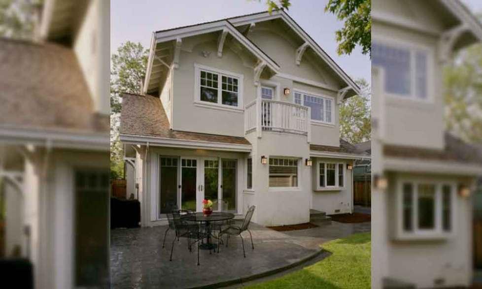 2 story colonial home exterior window trim ideas