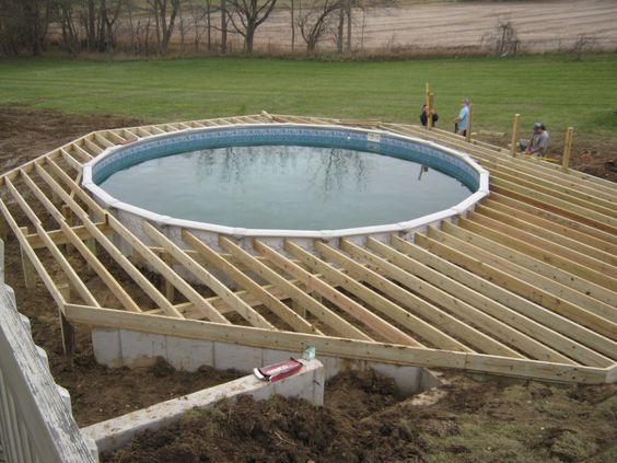 50 Above Ground Pool Ideas of 2019 Trends (A Guide to Build Pool)