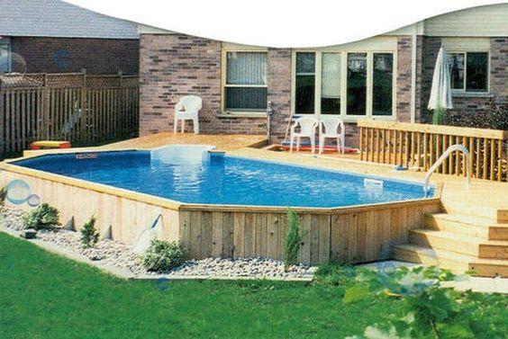 50 Above Ground Pool Ideas of 2019, Pro & Cons, Budget ...