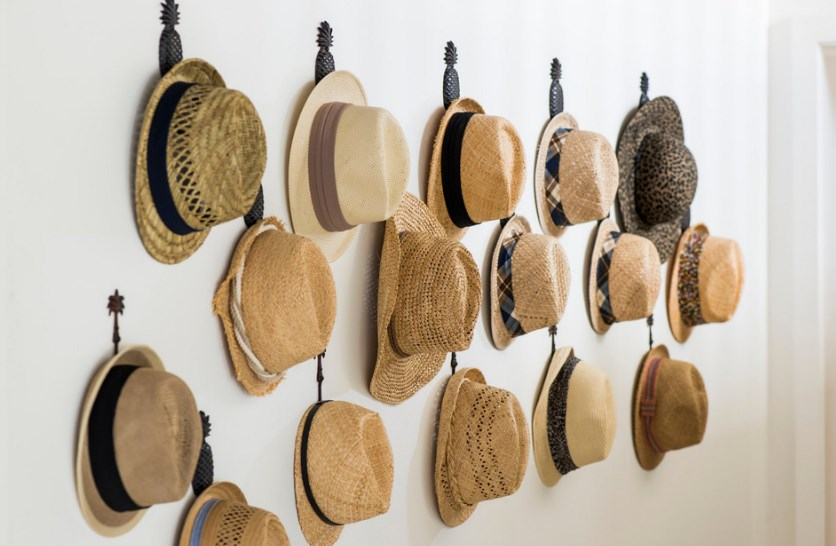 wall hat rack ideas