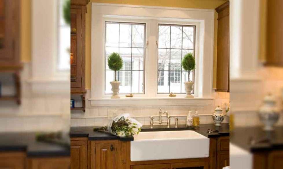 window arch trim molding ideas
