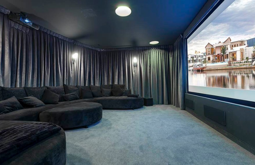 basement home theater furniture