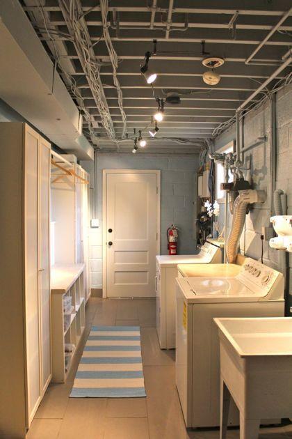 Basement Laundry Room Plumbing