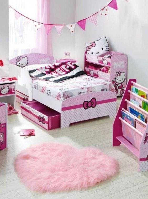 Hello Kitty Bedroom Decoration