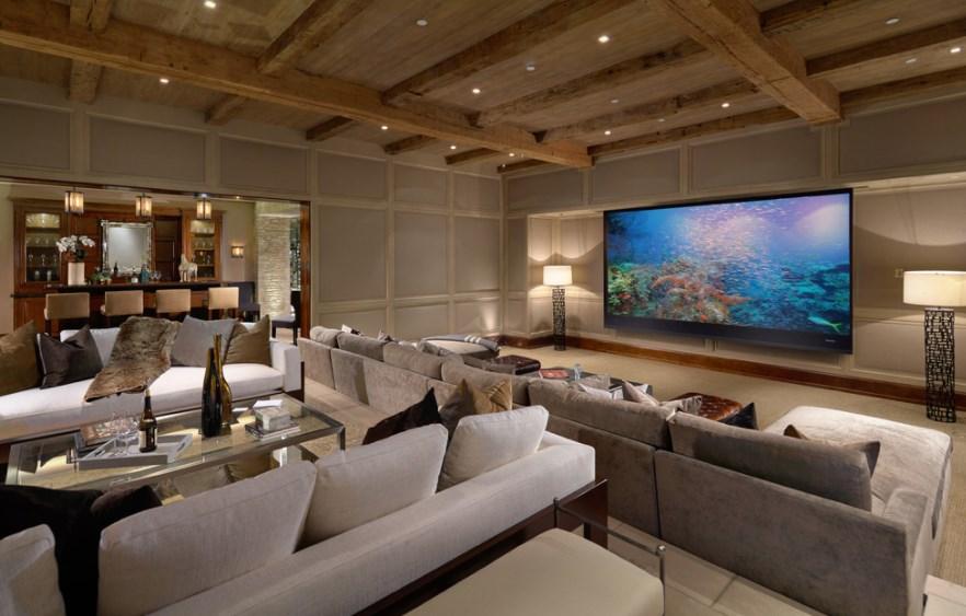 best basement home theater