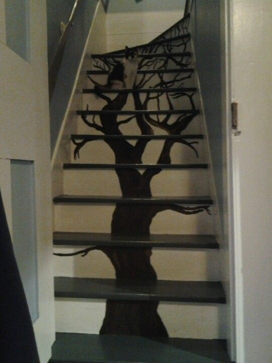 Painted Staircase Spindles Pictures